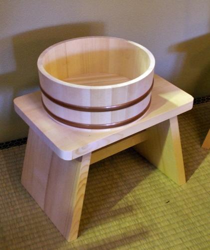 Bath Stool & Bucket Set | Stock#AX010