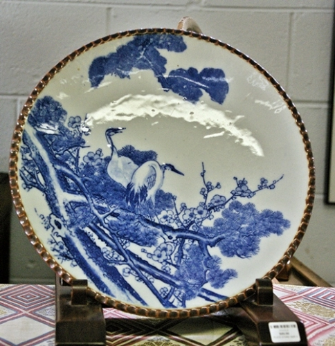 Antique Igezara Plate & Japanese Antique Vintage \u0026 Contemporary Ceramics Supplier - yakimono