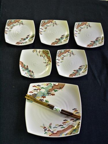Nice Flower Plate Set. Dw178   Japanese Dinnerware ...