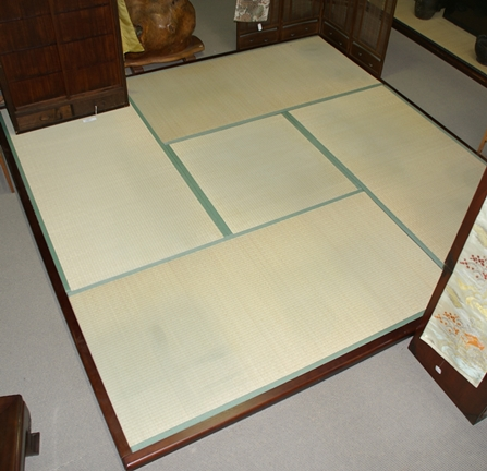 Tatami Are A Traditional Japanese Floor Mats. They Are Made By Covering  Rice Straw With A Woven Sea Rush. Tatami Are Made In Individual Mats Of  Uniform Size ...